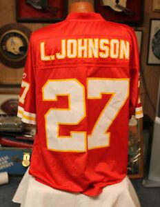 Nice Vintage NFL Reebok Authentic LARRY JOHNSON Kansas City Chiefs Jersey  for cheap