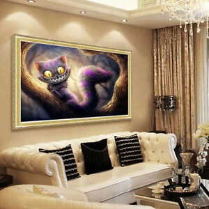 5d Diy Diamond Embroidery Cat Diamond Painting Cross