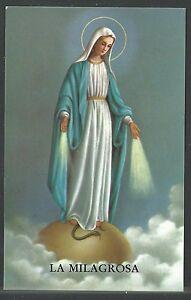 image pieuse Virgen Milagrosa santino holy card estampa suhl1CP6-08065938-878767258