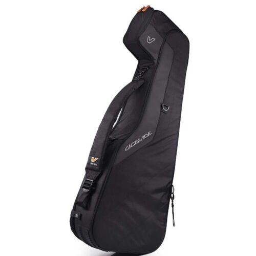 Gruv Gear GigBlade 2 Side-Carry Hybrid Acoustic Guitar Travel Gig Bag Black