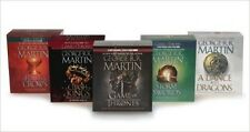 5 audiobooks - The Game of Thrones Series by George RR Martin Mp3 Unabridged