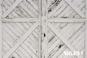 Rustic Barn Door Window Wall Background Smooth Texture Wood Floor Photography Backdrop Studio Props Wall 5x7ft Backdrop Photo PB1137
