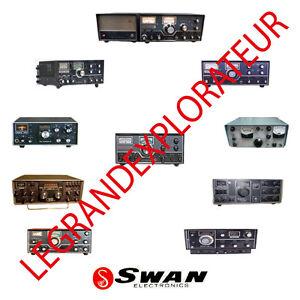 ultimate swan radio operation repair service manual schematics rh ebay com Swan 700Cx Swan 500C