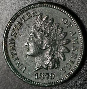 1879-INDIAN-HEAD-CENT-With-LIBERTY-amp-DIAMONDS-XF-EF-Details