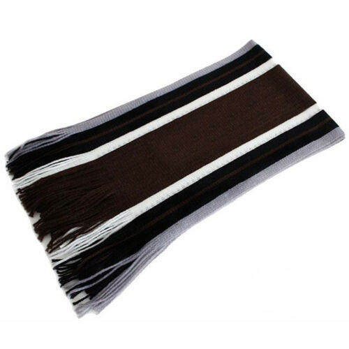 US Sale Men/'s Winter Warm Cashmere Feel Long Scarf Faux Wool Soft Wrap Shawl GW