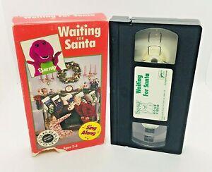 Barney Waiting for Santa VHS Second Version Backyard Gang ...