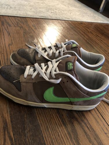 Nike Dunk Low Neon Brown 2007 Size 10.5 Nike Sb Du