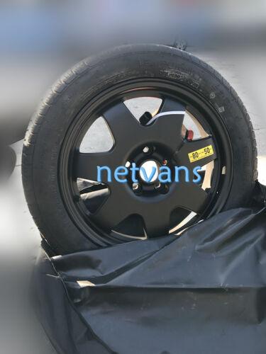 """notrad Ersatzrad Aluminium 17/"""" fur HONDA HR-V mit wagenheber Schlüssel Tasche"""