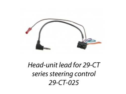 29-CT-025 VAUXHALL VECTRA C 2005-2008 PATCH LEAD FOR 29-CT STEERING CONTROLS