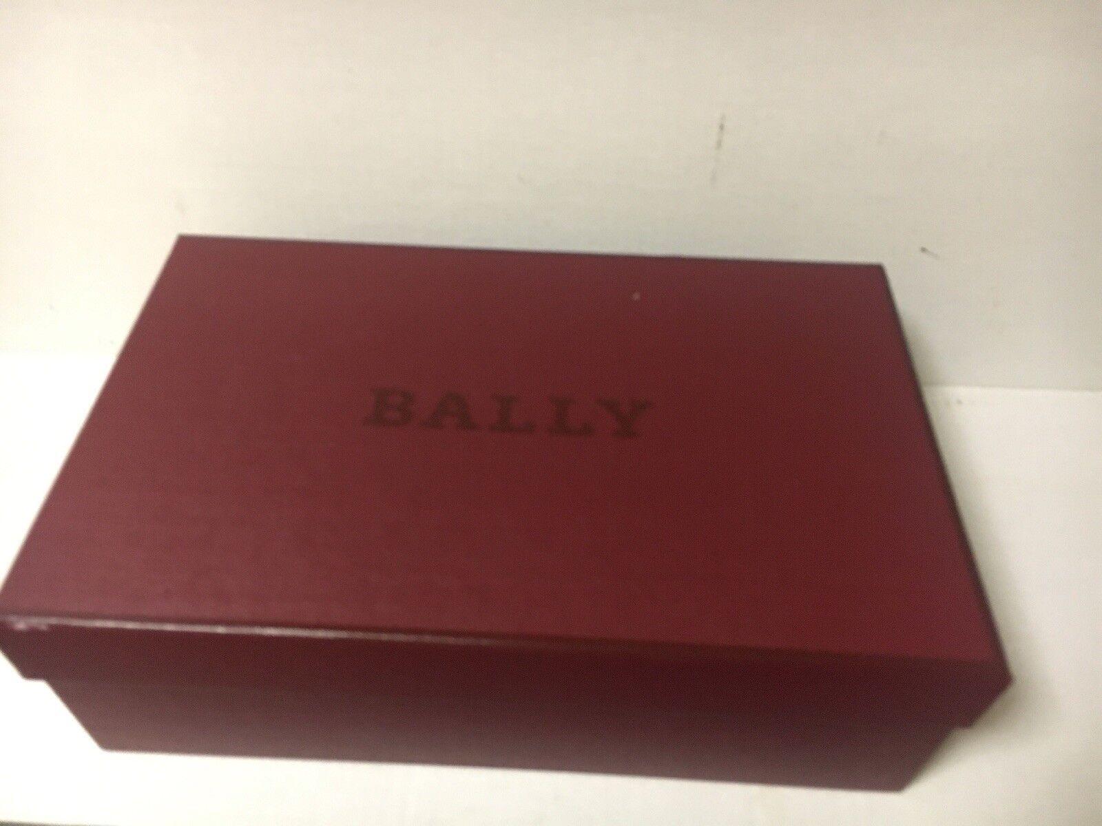 NEW Women's Bally Bally Bally Henrika Silver Goat Metallic US 8.5, EU 39 4fbea7