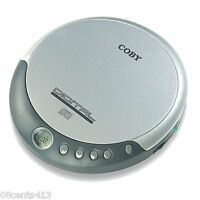 Coby (cx-cd109) Personal Portable Cd Player W/ Digital Lcd Display