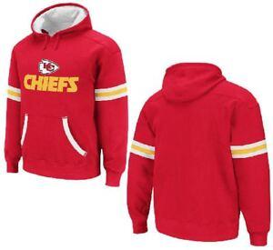 Kansas City Chiefs Youth QB Jersey Hooded Sweatshirt by Reebok, XL