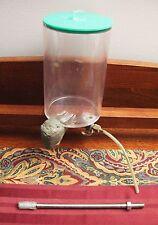 Lapidary Water Feed Drip Tank Faceting Rock Gemstone Polishing Machine Equipment