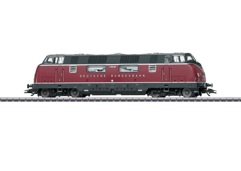 Märklin 37806 Diesellok V 200.0 der DB mfx+-Decoder Sound purpurred  NEU in OVP
