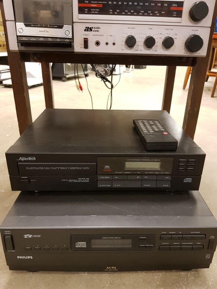 Pladespiller, Pioneer, Samsung - Hitachi - Audio Sonic -