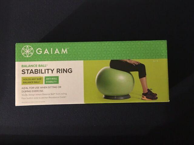 Gaiam Balance Ball Stability Ring, Grey