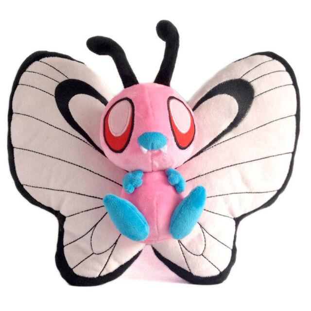 pokemon shiny butterfree plush doll figure stuffed animal toy 7