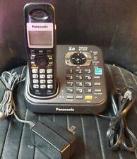 Panasonic Kxtg6843b Single Line Cordless Phone For Sale Online Ebay