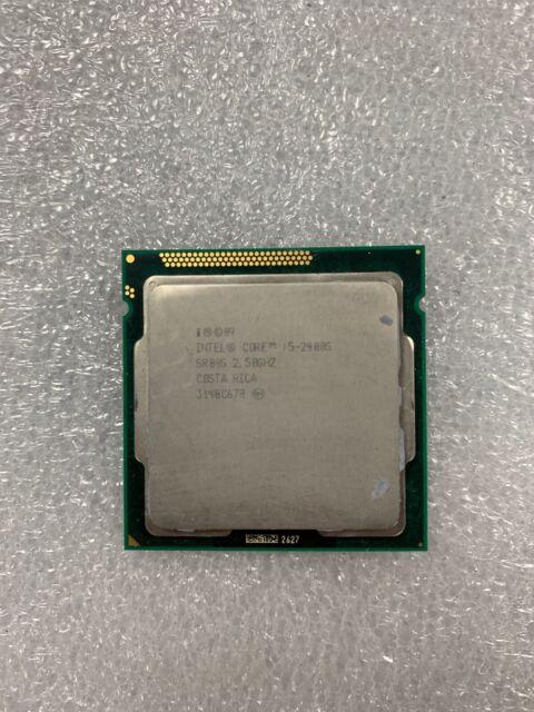 Intel Core i5-2400S - 2.5 GHz Processor LGA1155