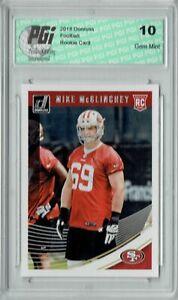Mike-McGlinchey-2018-Donruss-Football-352-Rookie-Card-PGI-10