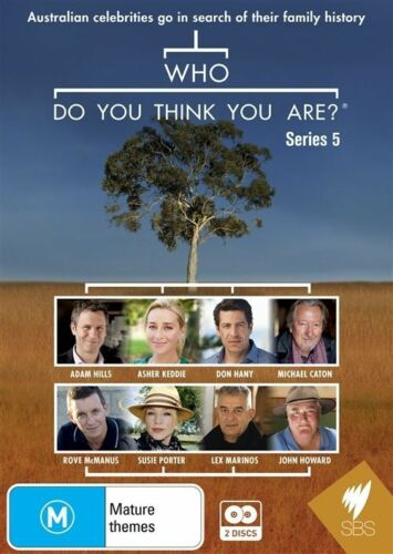 1 of 1 - Who Do You Think You Are? Series 5 - DVD Region ALL, SBS, Aus Seller, Free Post
