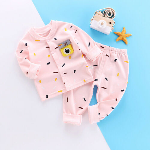 Children Sleepwear set Kids 2pcs Set Baby Sleepwear set Girls Long Sleeve