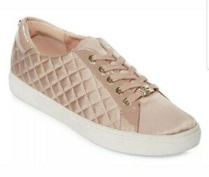 Liz-Claiborne-Waltz-Nude-Womens-Sneakers-Lace-up-Women-039-s-Size-9-M