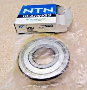 NTN 6305 ZZ Metal Shielded Bearing 25X62X17 mm