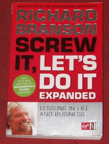 1 of 1 - SCREW IT, LET'S DO IT EXPANDED ~ Richard Branson ~ LESSONS IN LIFE AND BUSINESS