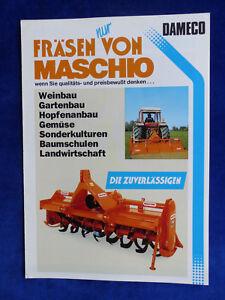 0199-2) Maschio Fraisage Séries Fraisage Hamilton Rotor Condor-prospectus Brochure-afficher Le Titre D'origine Top PastèQues