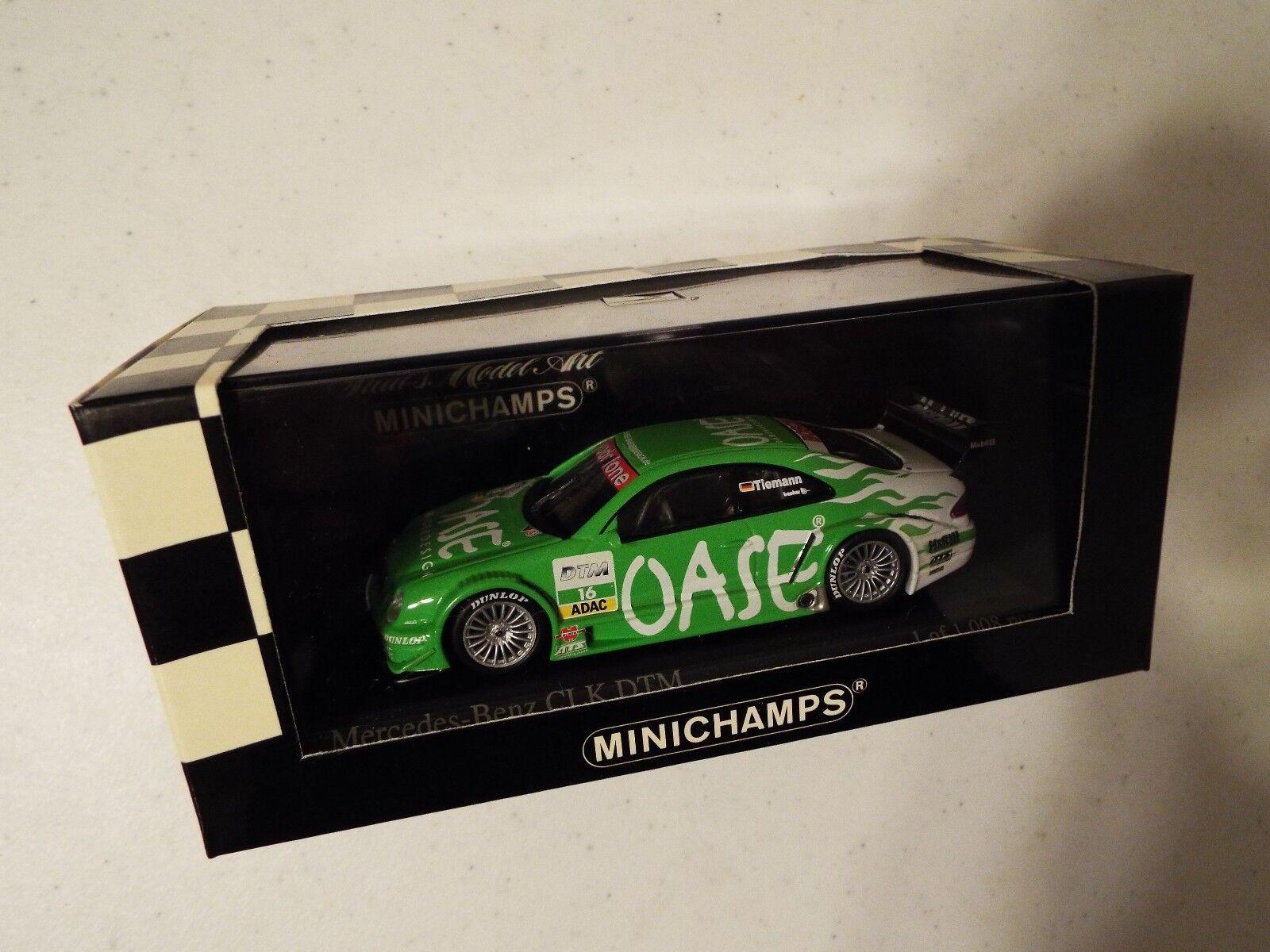 Minichamps 1 43 Mercedes CLK Coupe Dtm 2001 sumidos equipo Oase AMG OVP