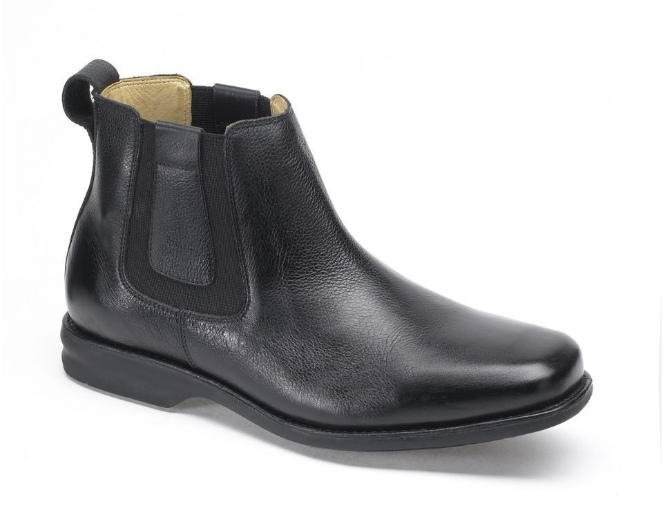 Anatomic & Co Amazonas Chelsea Chelsea Chelsea Boot Black Soft Leather wide Fitting rrp £139.95 0b0793