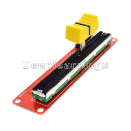 10K Linear Slide Potentiometer Module Dual Output AVR Arduino Electronic Block P