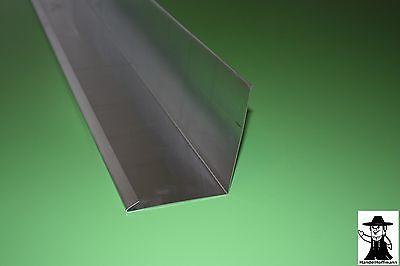 Fürs Dach Heimwerker Neueste Kollektion Von Wandanschlußblech Dach Dachblech Alu Aluminium 1m Lang 0,8 Mm Stark Attraktives Aussehen