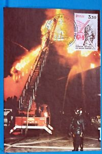 LES-SAPEURS-POMPIERS-FRANCE-CPA-Carte-Postale-Maximum-Yt-2233-C