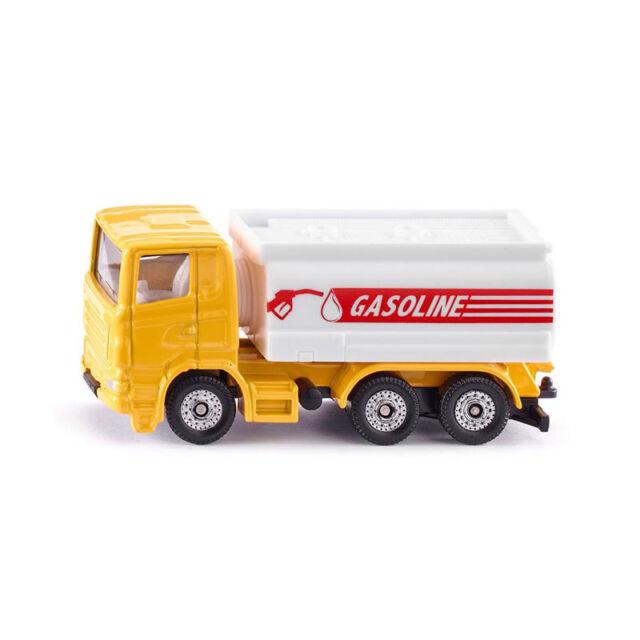 "Siku 1387 Tank Truck "" Gasonline "" Yellow/White Model Car (Blister Pack) New !°"