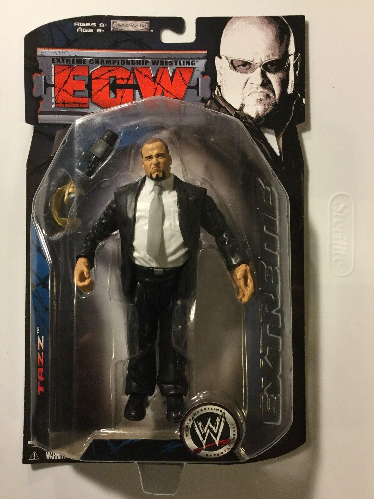 TAZZ 2007 WWE Ruthless Aggression ECW Series 3 Jakks FREE SHIPPING
