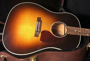 MINT-Gibson-J45-Standard-Vintage-Sunburst-Acoustic-Guitar-OHSC-100-Unplayed