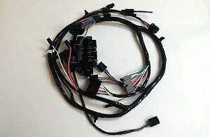1963 chevy pick up truck under dash wiring harness with