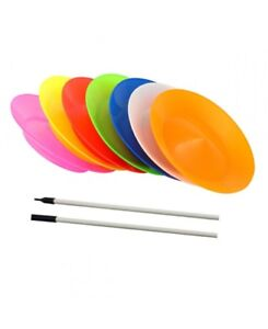 Juggle-Dream-Circus-Spinning-Plate-amp-Stick-Various-Colours-Available