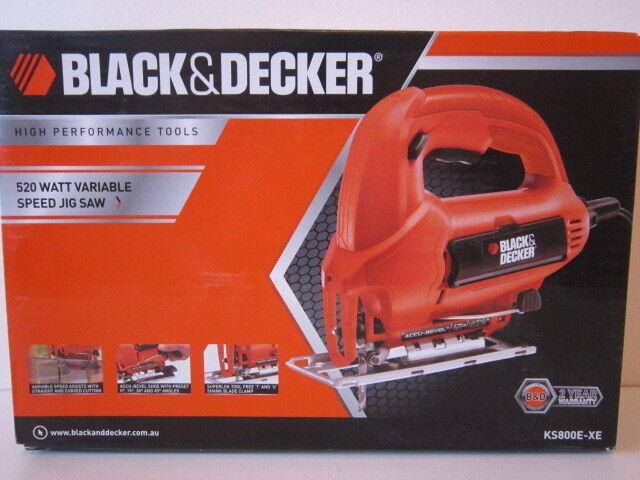 BLACK+DECKER KS800E Variable Speed Jigsaw