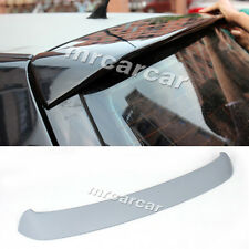 Unpainted PU R Style Rear Roof Spoiler Wing Fit for Volkswagen VW Golf 4 IV MK4