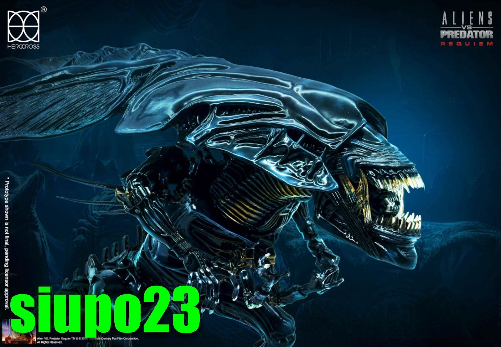 86hero Herocross ~ HMF  047 AVP Alien Queen Figure