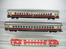 AJ222-0,5# 2x Roco H0/DC IC-Personenwagen 1. Klasse Apümh 121/18-80 122 DB NEM