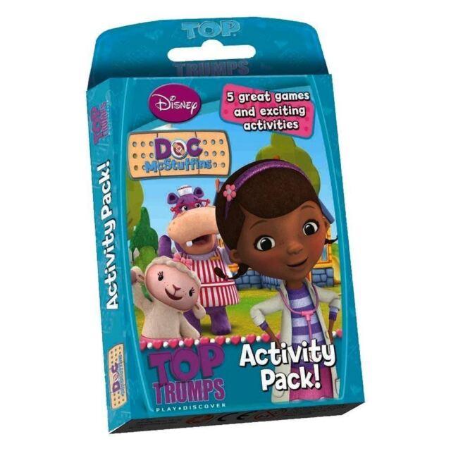 Top Trumps - Doc McStuffins Activity Pack Card Game
