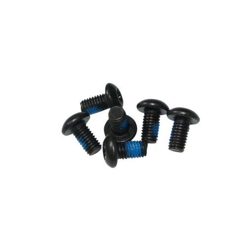 6pcs Disc Brake Rotor Torx T25 Bolts Screws Replace For MTB Bicycle Bike
