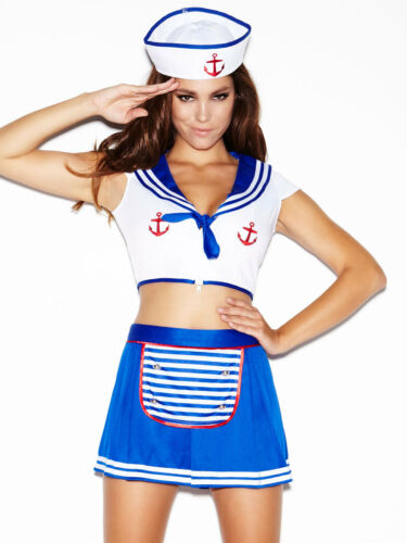 Ann summers All Hands On Deck Sailor Girl Outfit Sz 14 *In Stock*