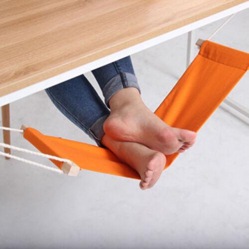 Adjustable Foot Hammock Desk Feet Hammock Stand Under The Table Foot Leg Rest UK