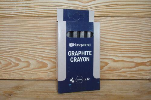 Graphitkreide 12er pack  HUSQVARNA Made in GERMANY