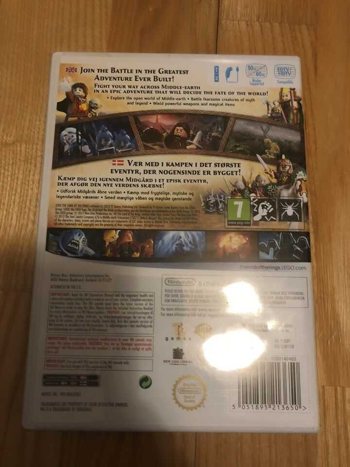 The Lord of the rings, Nintendo Wii
